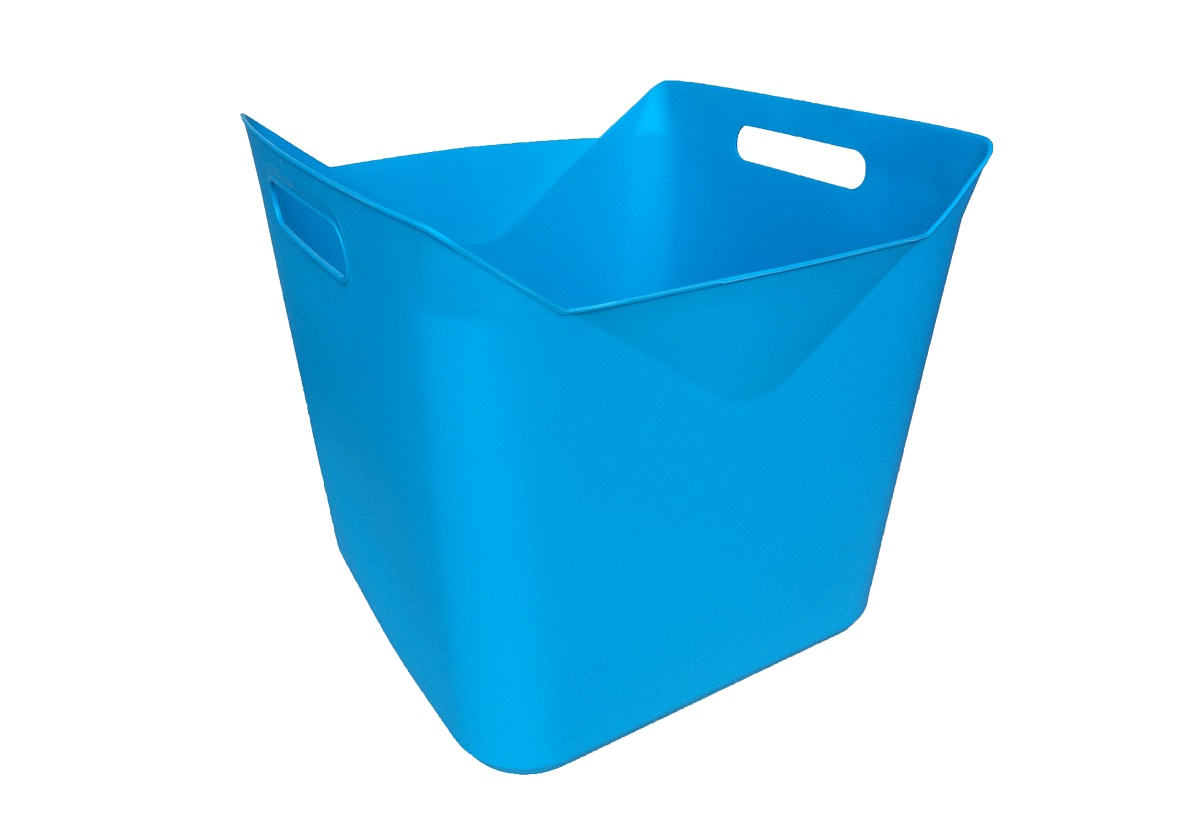 25lt Square Flexi Tub (Blue or Light Grey) | Maze Products