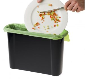 9lt Slim Caddy with 20 x Compostable Bags