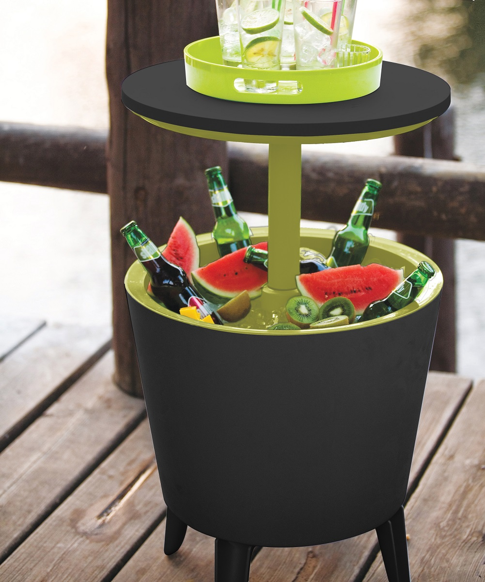 Keter Cool Bar Charcoal Lime Maze Products
