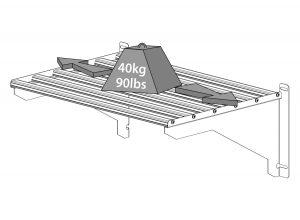 Heavy Duty Shelf Kit