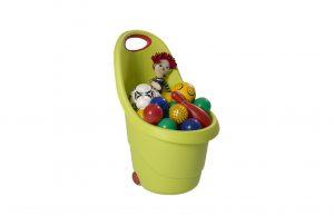 Kiddies Go Storage Carts x 4 (Green)