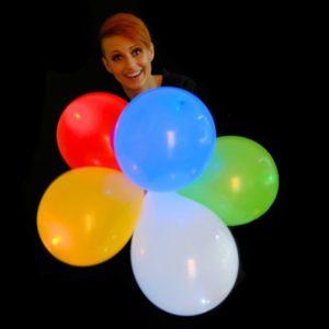 12 inch Latex LED Balloons