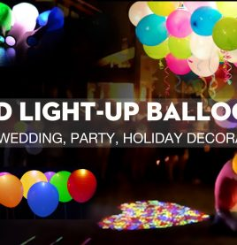 12 inch Latex LED Balloons
