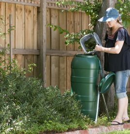 Single 100lt Compost Tumbler