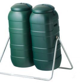 Dual 200lt Compost Tumbler