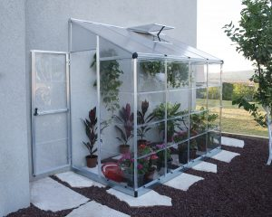 8' x 4' Lean-to Greenhouse (Walk in)