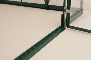 8' x 8' Green Frame Greenhouse