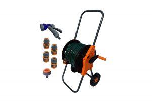 Portable Hose Cart with 30m hose.