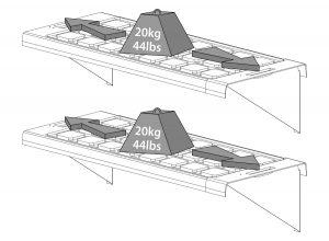 Twin Shelf Kit