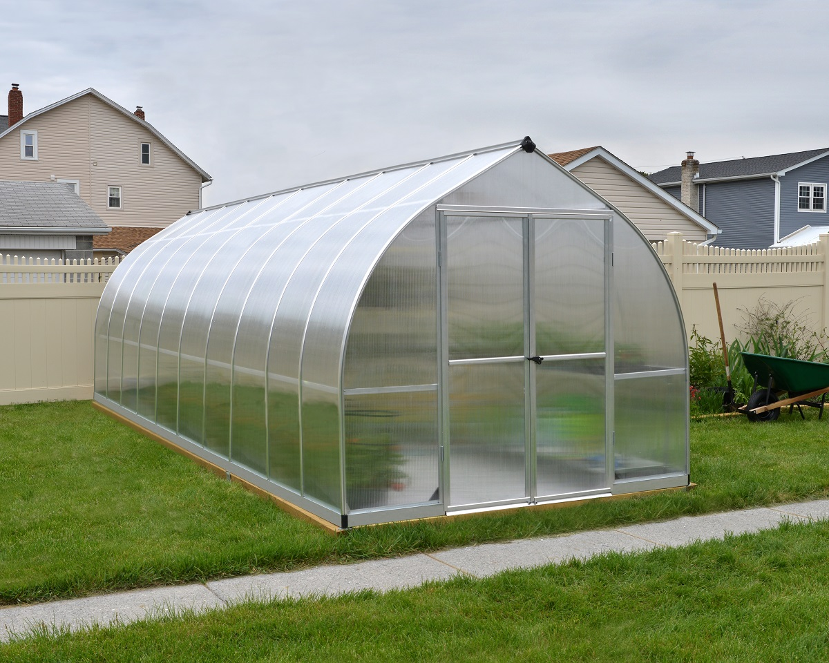 Bella 8ft X 20ft Greenhouse Maze Products