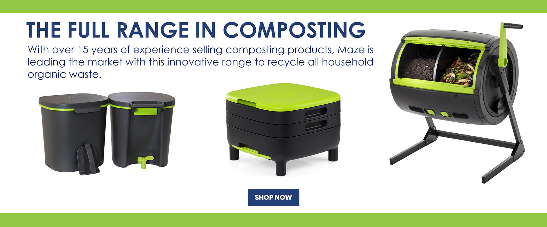 Composting Products Range