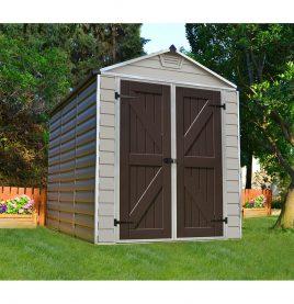 Maze 6x8 skylight shed