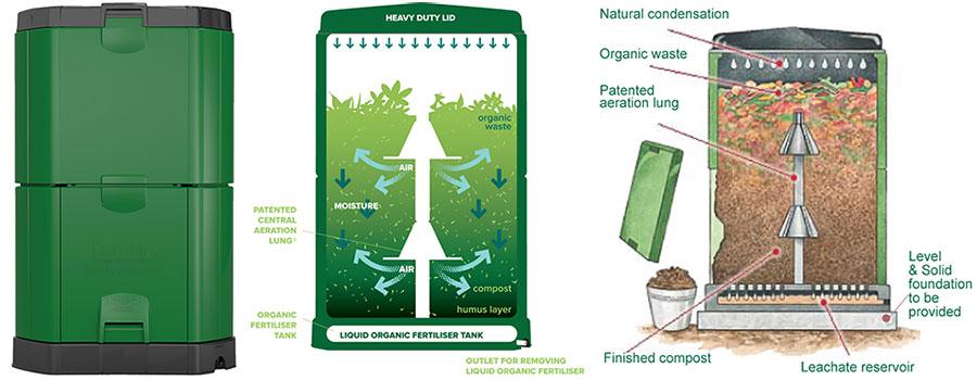 aerobin compost bin